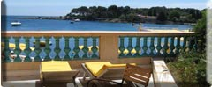 14 Rooms on the seafront in the Cap d'Antibes